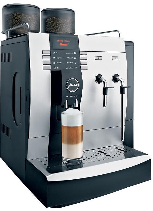 Espresso  Kaffebryggare Jura X9  Norrorts Partyservice ~ Kaffeemaschine Jura Impressa